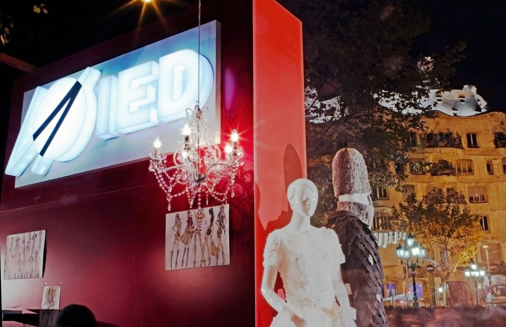 IED Barcelona stand, The Shopping Night (28 Nov 2013)